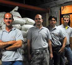 The Vianello Pavimenti team